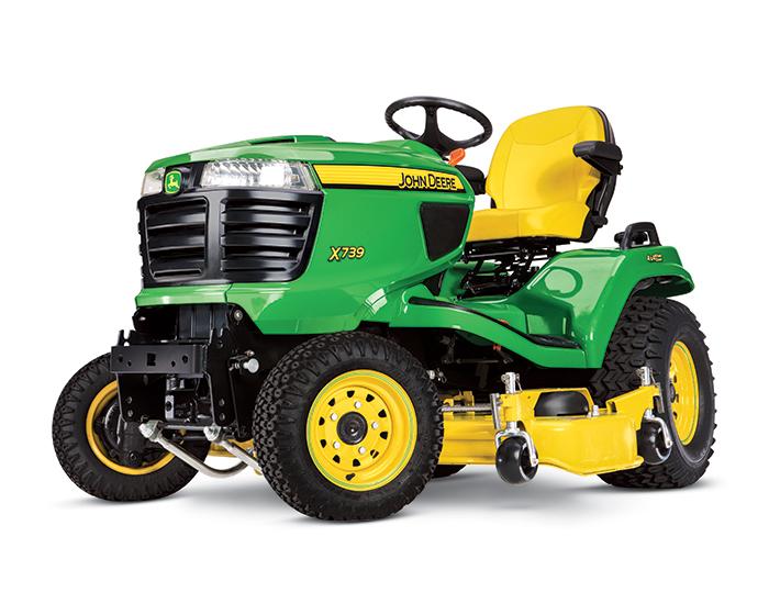 John Deere Signature Series X700 Tractor X739