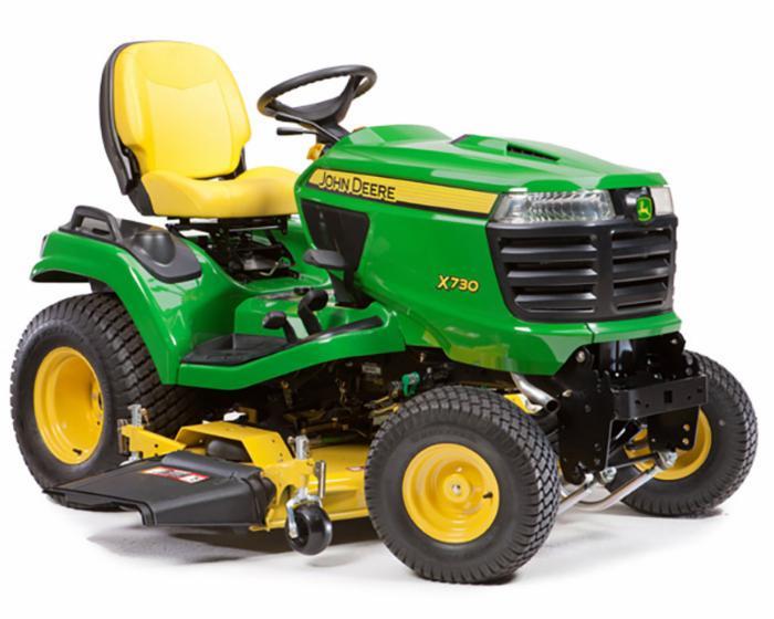 John Deere Signature Series X700 Tractor X730