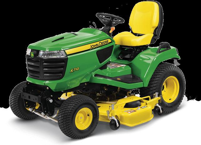 X710 Signature Series Tractor - New Signature Series X700 ...