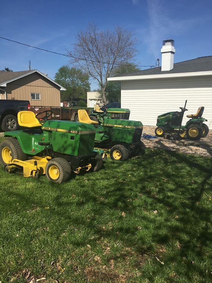 82 best John Deere 400 Series Lawn Tractors images on ...