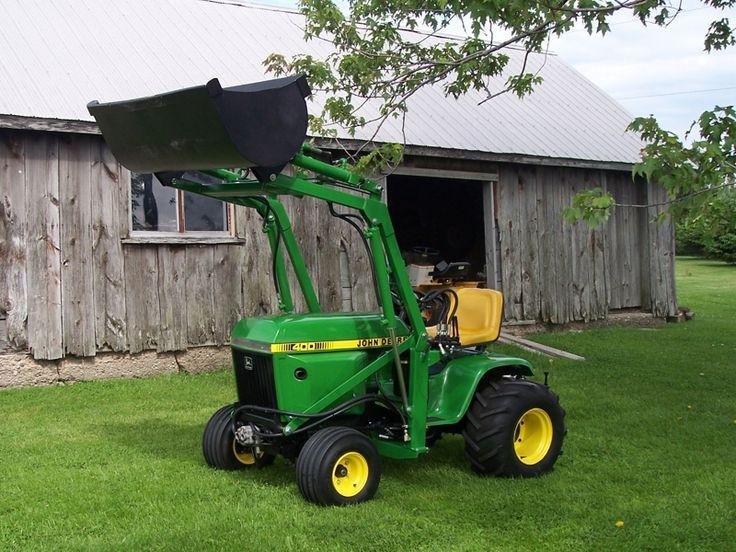 49 best images about John Deere 400 Series Lawn Tractors ...