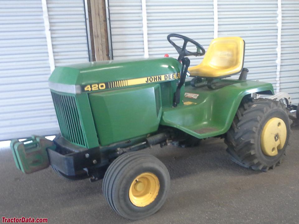 John Deere 400 Series Garden Tractor | Car Interior Design