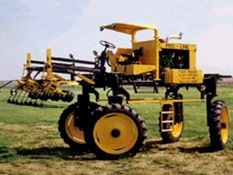 Detasslers Highboy Tractors PFD Four-Wheel Steering