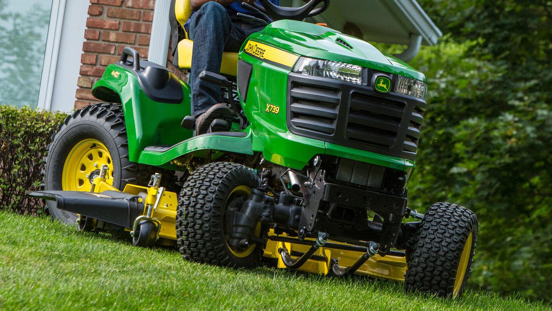 Riding Mowers | 4-Wheel Steering Lawn Tractors | John Deere US