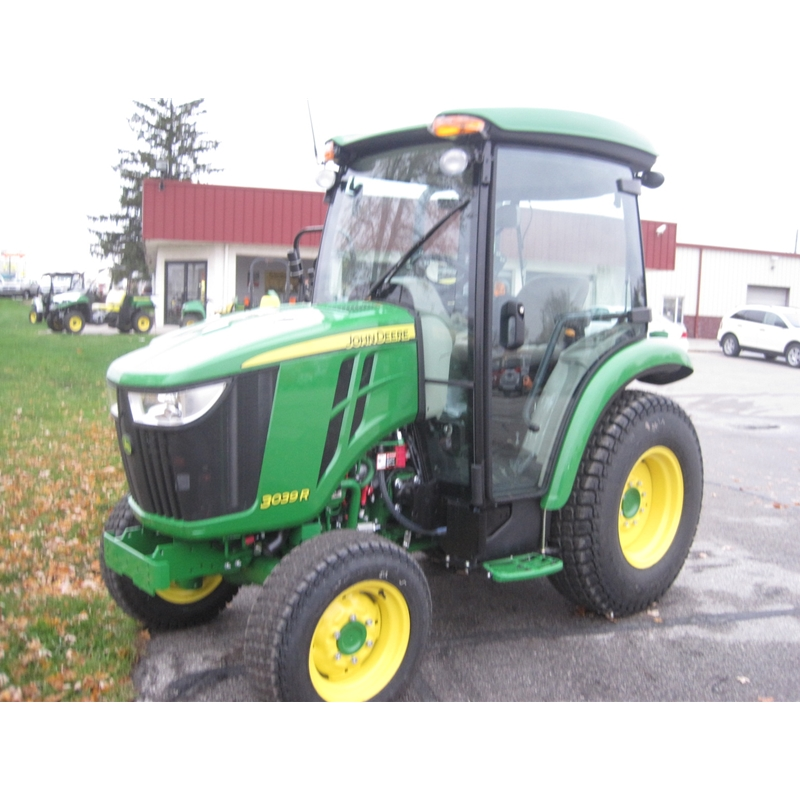 John Deere 3039R Cab Compact Utility Tractor