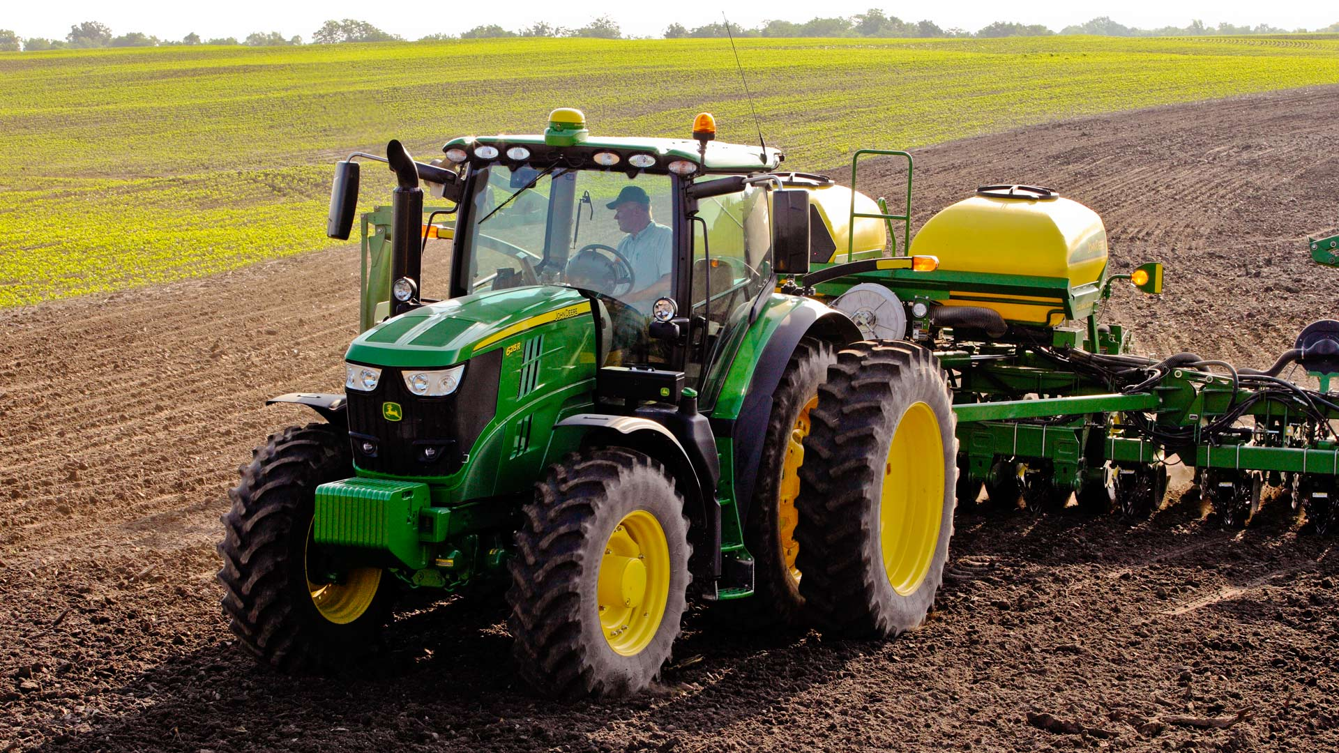 Farm Tractors   6 Family Row Crop   John Deere US