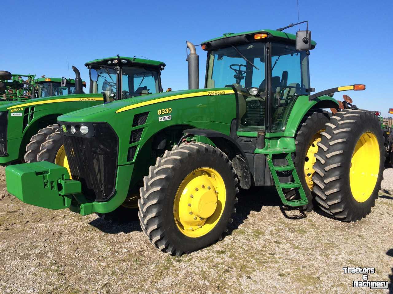 John Deere 8330 ROW CROP TRACTOR - Used Tractors - 2006 ...