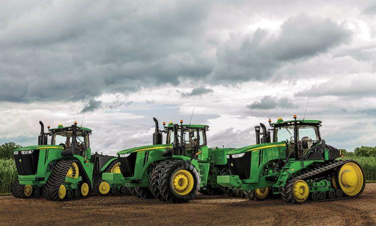 Tractors | Four-Wheel-Drive | John Deere CA