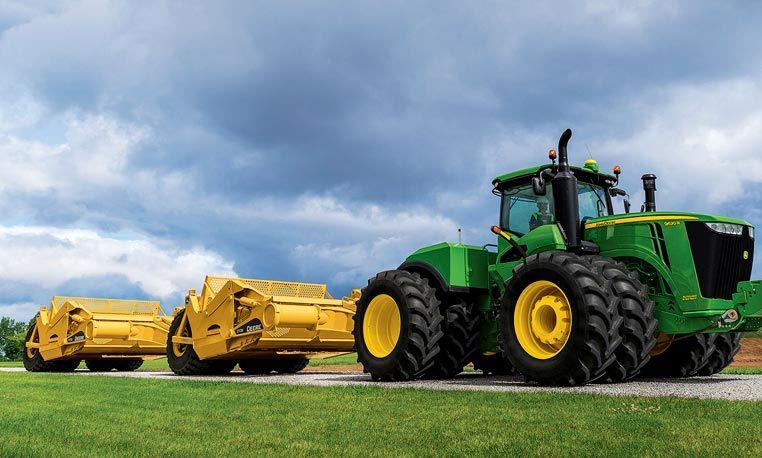 9 Family 4WD/Track Tractors | 9R/9RT/9RX Scraper Special ...