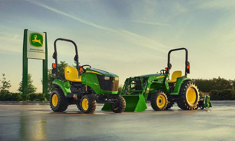 Compact Utility Tractors | E Series Tractors | John Deere CA