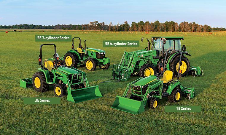 Compact and Utility Tractors | E-Series | John Deere US