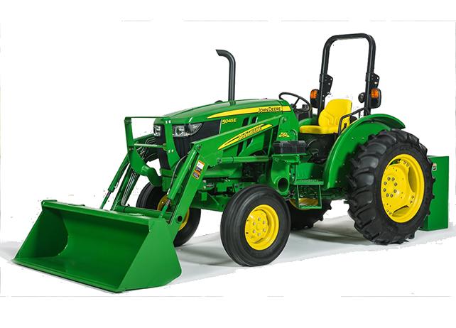 5E Series (45-75 hp) Utility Tractors | 5045E Utility ...