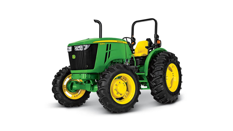 5085E Utility Tractor - New E Series Tractors 32HP - 38HP ...