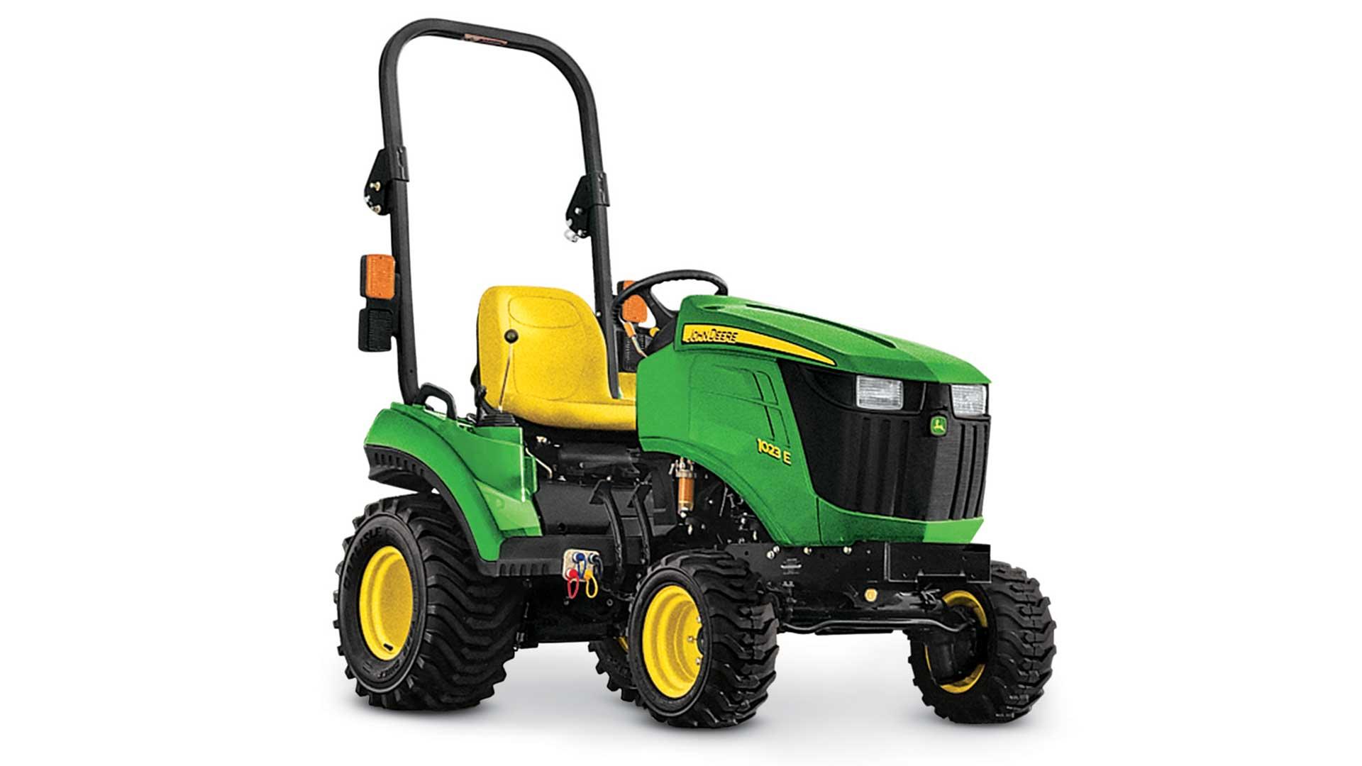 Utility Tractors and 459E Baler | E-Series | John Deere CA