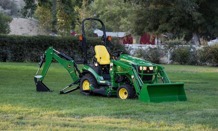 1 Family Sub-Compact Tractors | John Deere CA