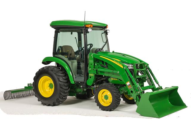 John Deere 3 Family Compact Utility Tractors | 3E 3R ...