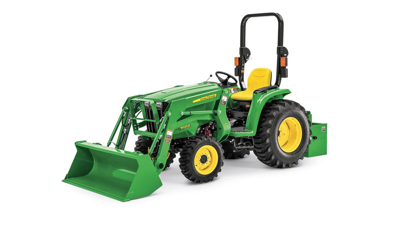 3 Family Compact Utility Tractor | 3038E | John Deere US