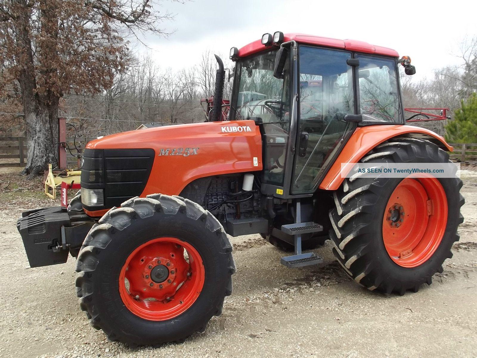 M125 X Kubota Cab Tractor