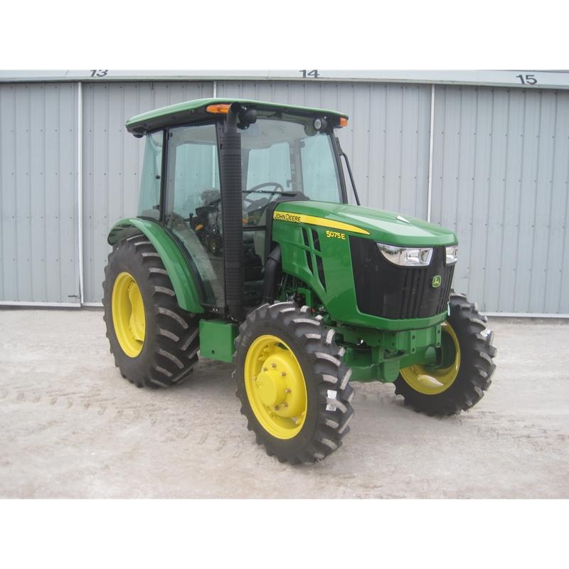 John Deere 5075E Cab Tractor