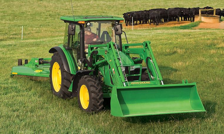 John Deere 5075M Utility Tractor 5M Series Utility ...