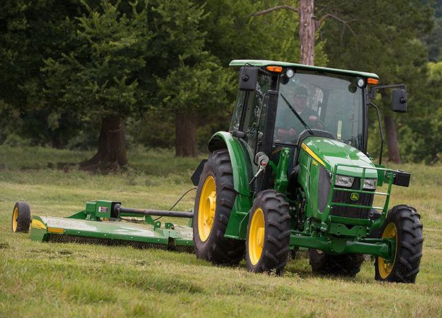 John Deere 5085M Utility Tractor 5M Series Utility ...