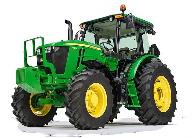 6105E Tractor   6E Series Utility Tractors   John Deere CA