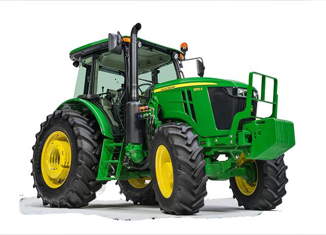 6135E Tractor   6E Series Utility Tractors   John Deere CA