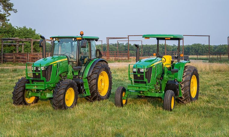 E Series Tractors   6E Series Utility Tractors   John Deere US