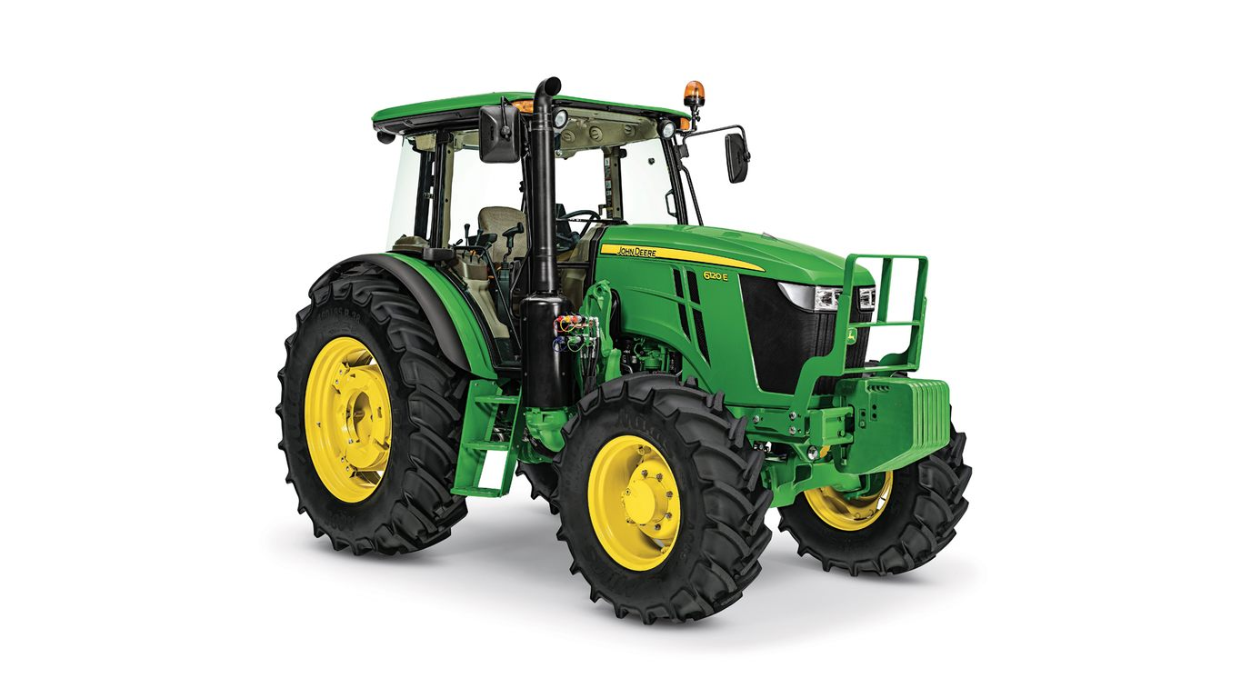 6120E Utility Tractor - New 6E Series (105-135 HP ...