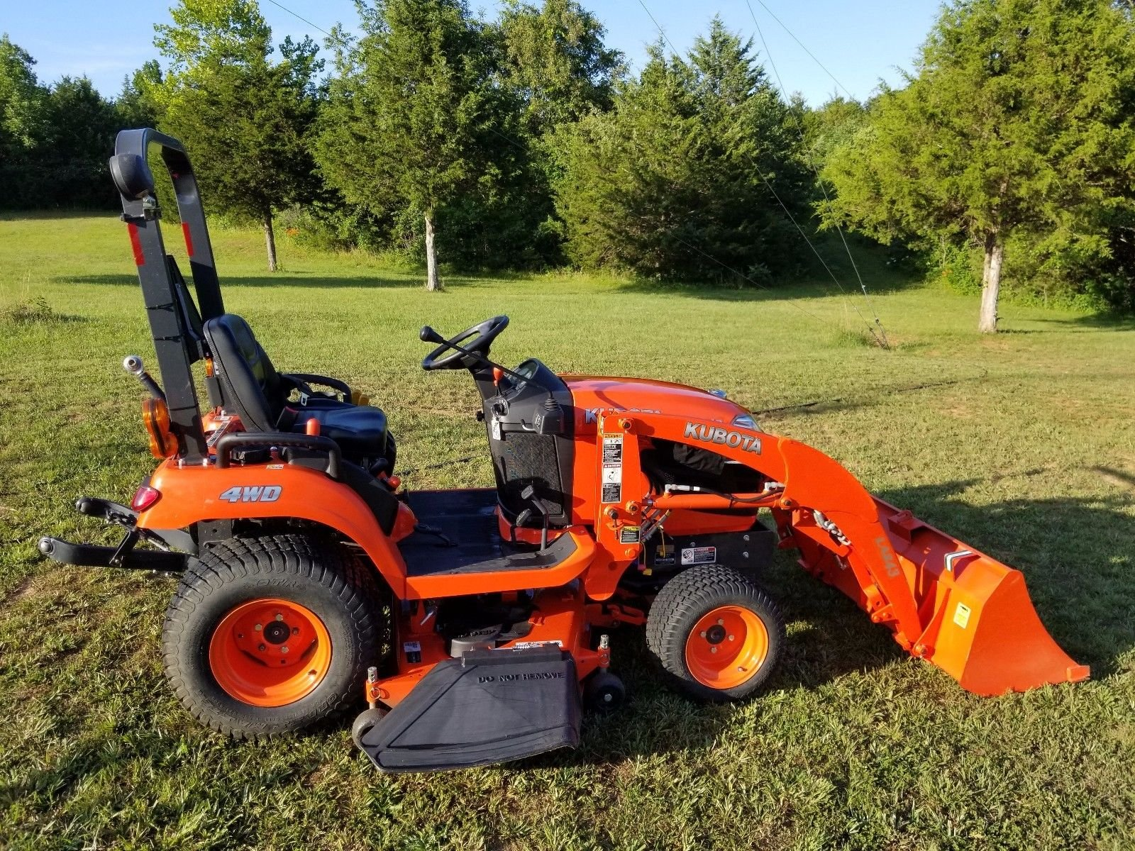2011 Kubota BX2360 Sub Compact Tractor Loader Belly Mower ...