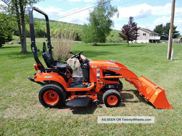 2013 Kubota Bx1870 Sub Compact Tractor Loader With 48 ...
