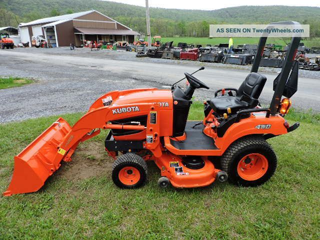 2012 Kubota Bx1860 Sub Compact Tractor Loader With 48 ...