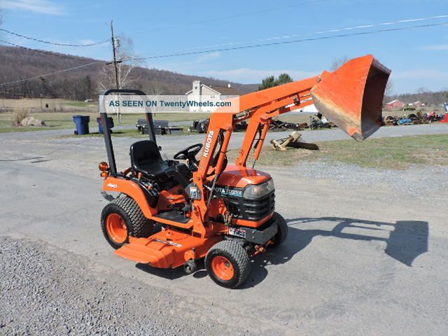 2004 Kubota Bx1500 Sub Compact Tractor Loader With 54 ...