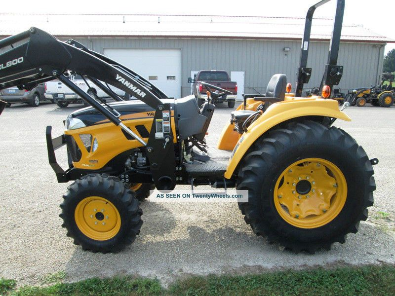 Yanmar Lx490 Tractor Loader Compact Utility Tractor 49hp ...