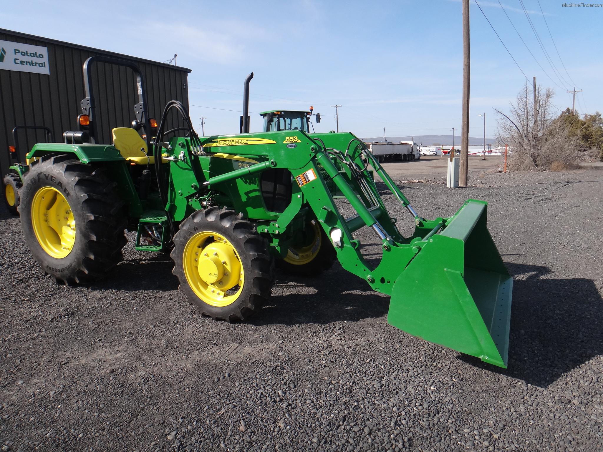 2013 John Deere 5055E & Loader Tractors - Utility (40 ...
