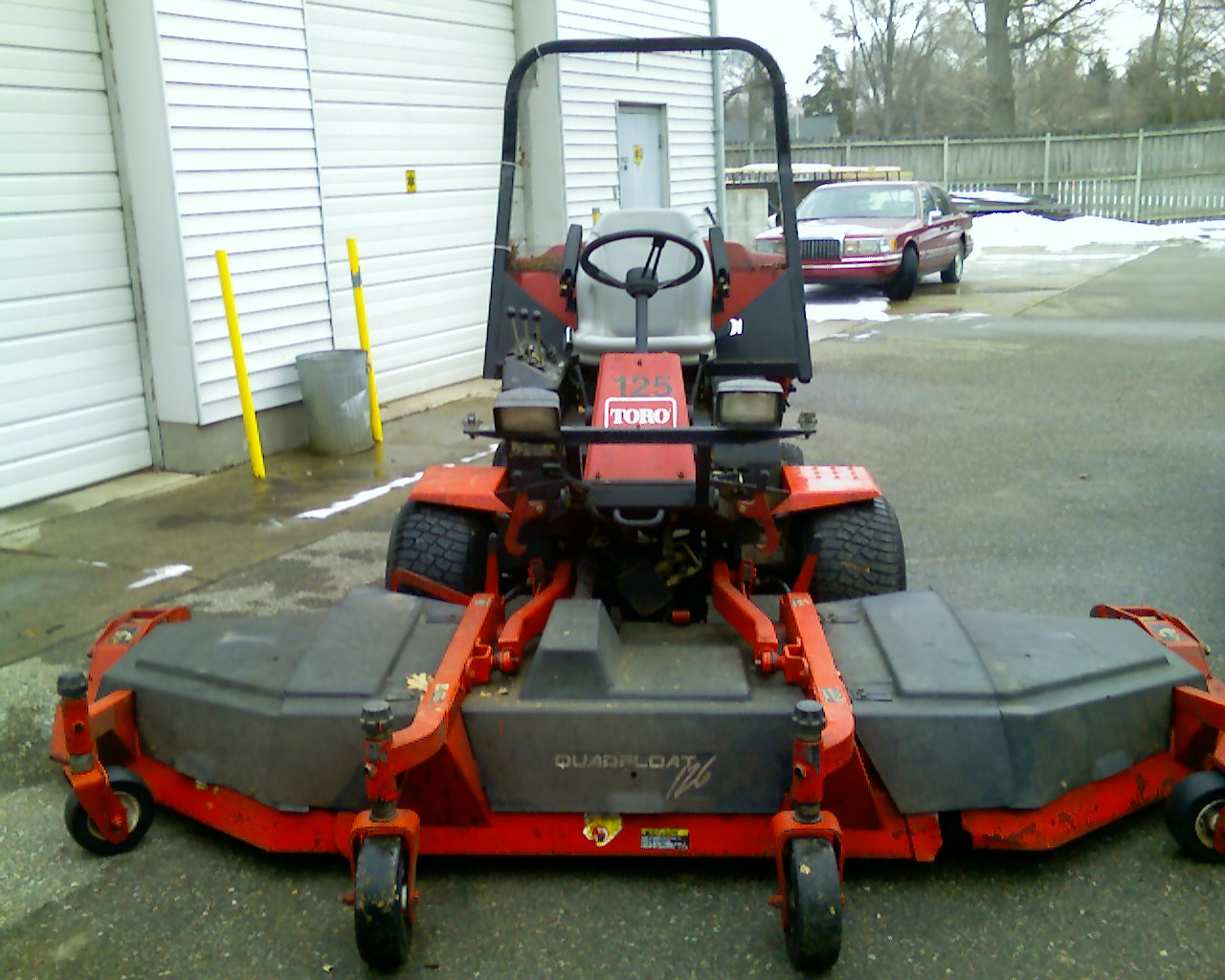 looking for front commercial or wide area mowers