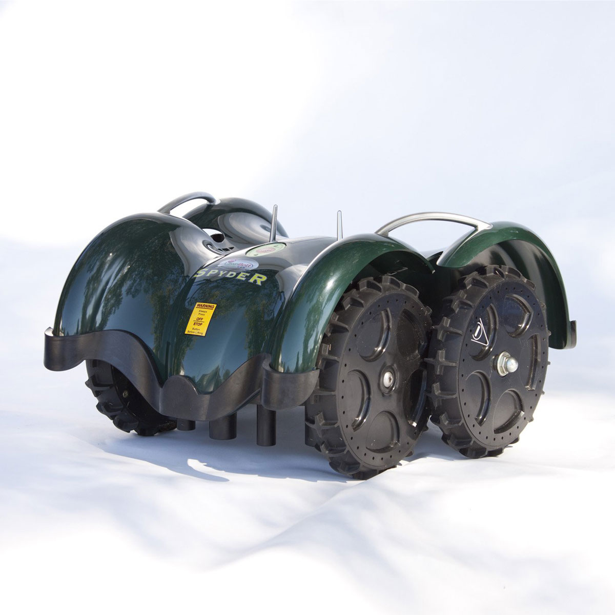 LawnBott SpyderEVO - Robotic Lawn Mower - The Green Head