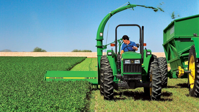Harvesting Equipment | Hay and Forage | John Deere CA