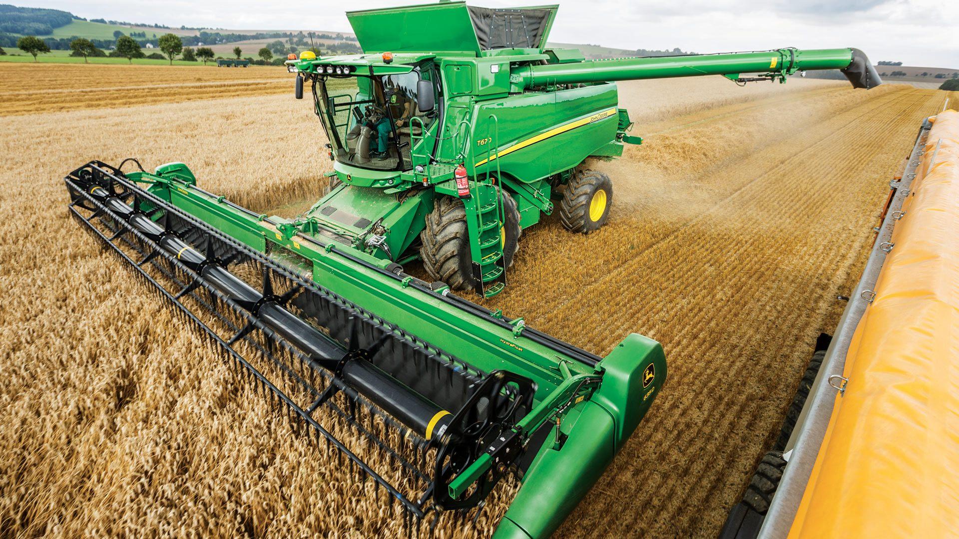 Harvesting Equipment | John Deere Australia