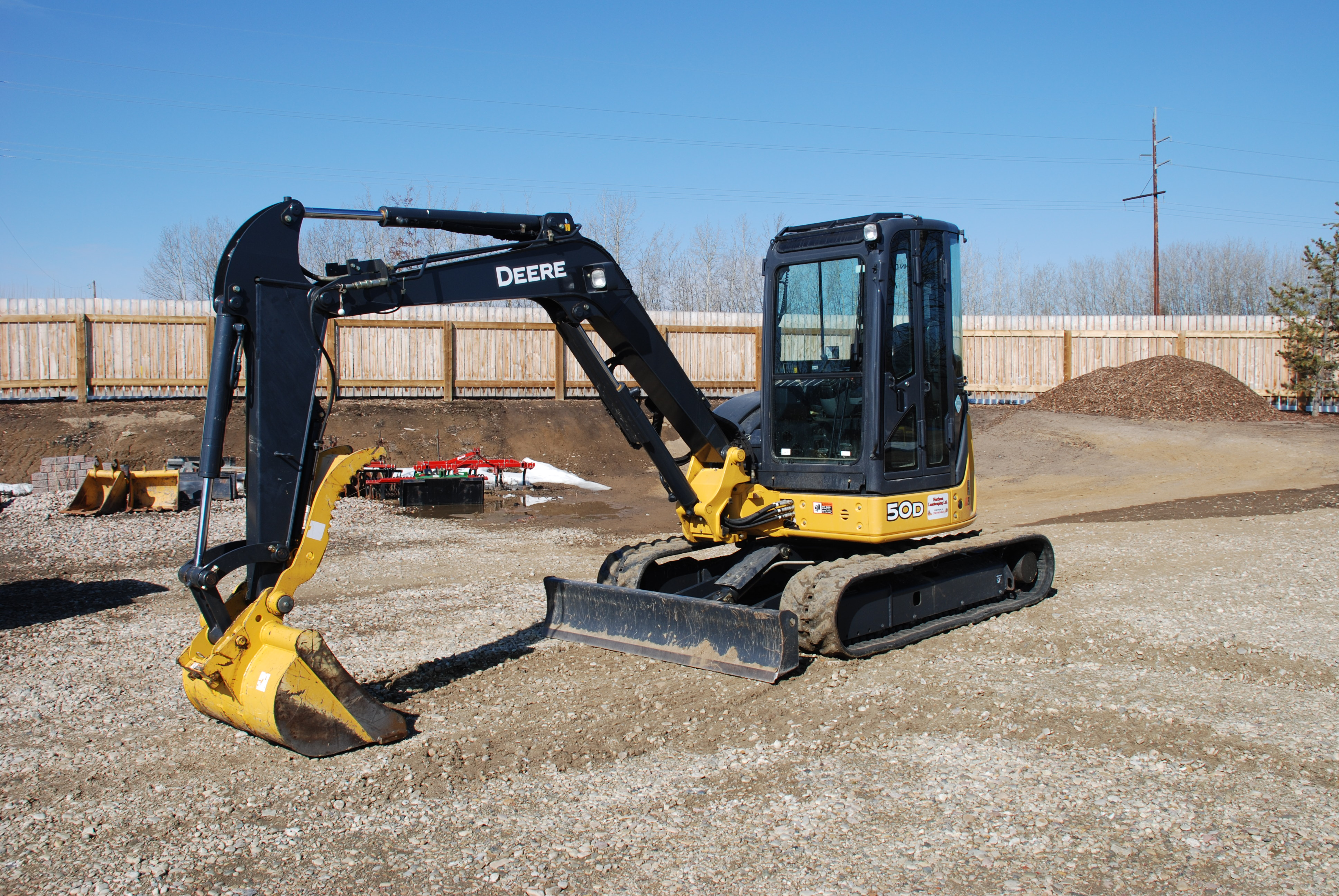 Landscaping equipment: dozer work, bobcat services ...