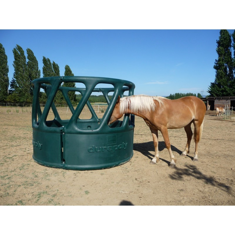 Heavy Duty Round Bale Feeder (Green) - The Feed Bins ...