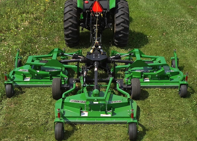 Frontier Mowing Equipment ∣ FM10 Series Flex-Wing Grooming ...