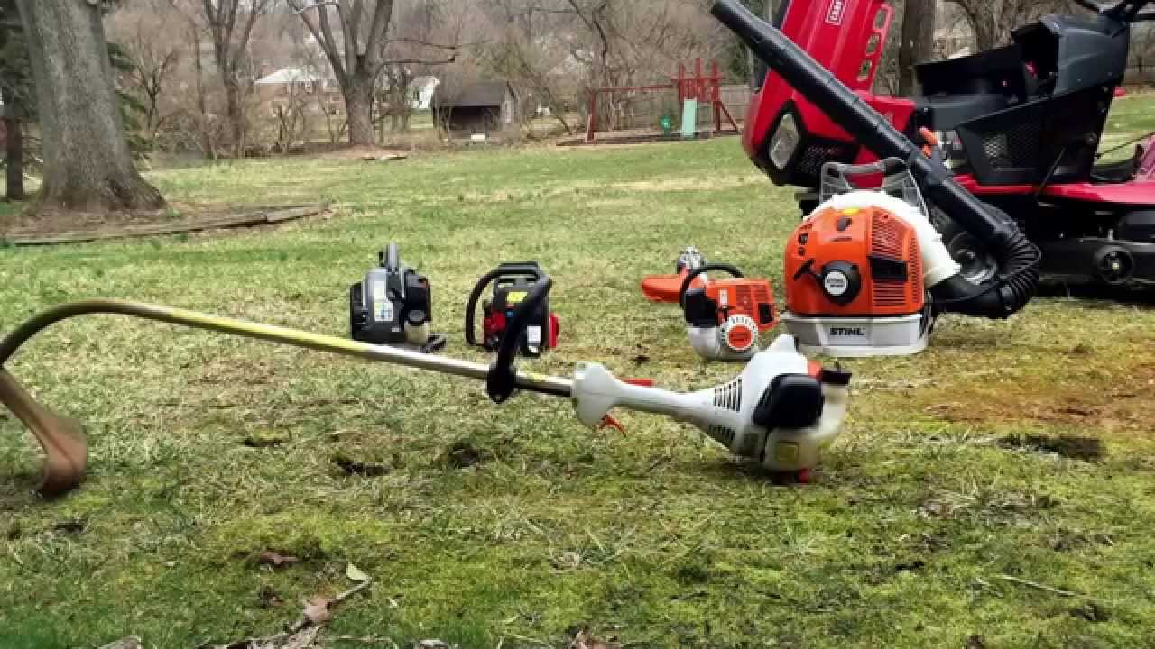 2015 Lawn Care Equipment & Startups - YouTube