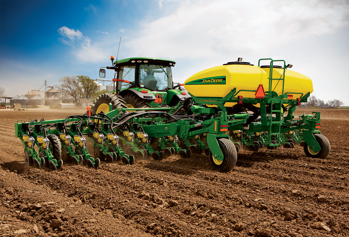 John Deere Planting and Seeding Equipment | Hutson Inc.