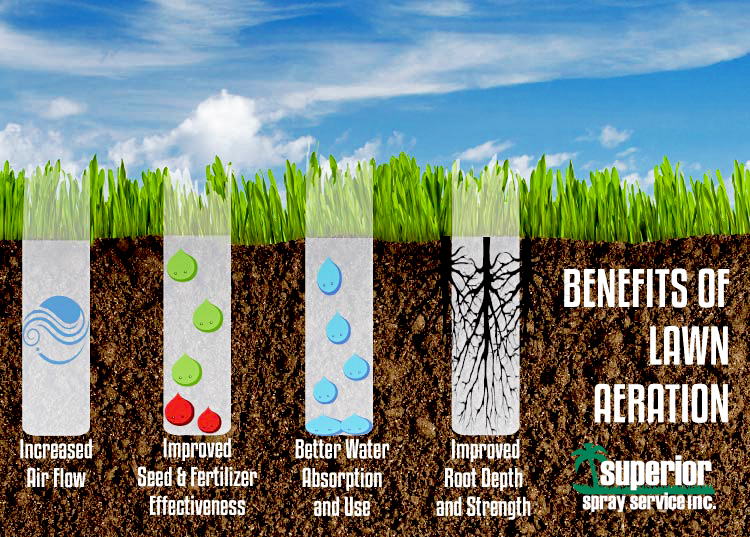 Aeration. Is the grass greener on the other side? Superior ...