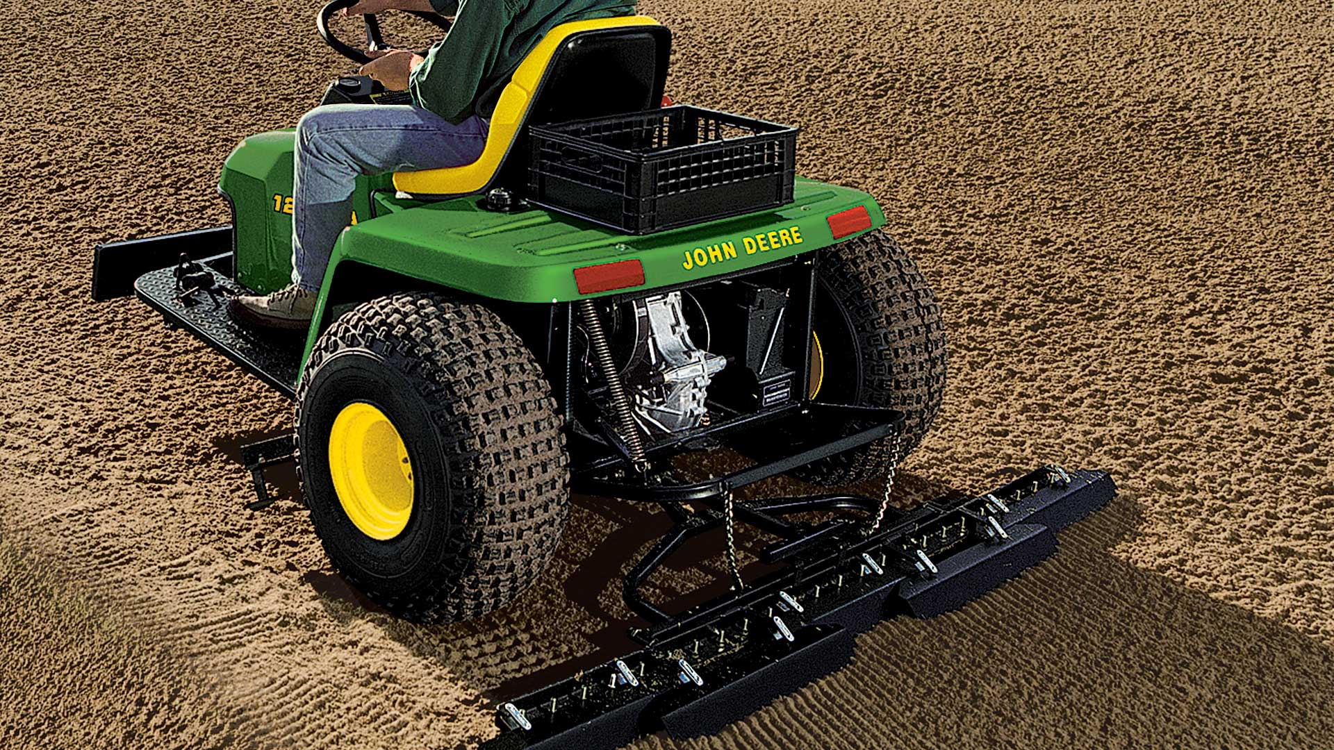 Bunker and Field Rakes | Golf and Sports Turf | John Deere US
