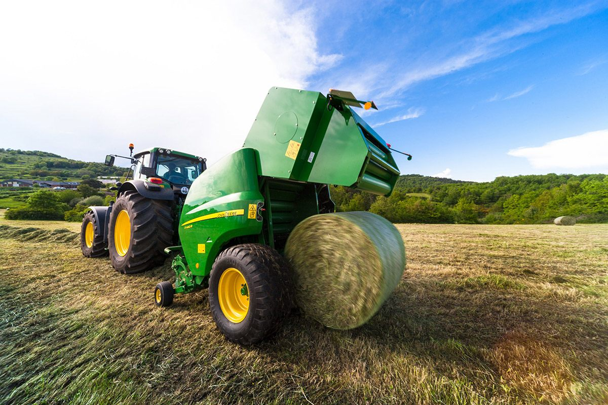 New John Deere balers & mower-conditioners at Grassland events