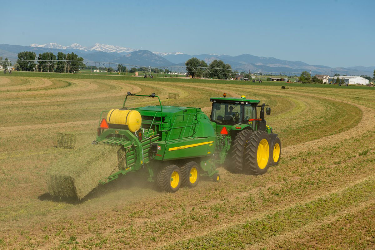 Pulling up the Curtain on the New Line of 2015 John Deere ...