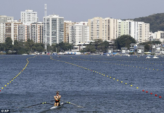 Rio's rowers are blown away as high winds force officials ...