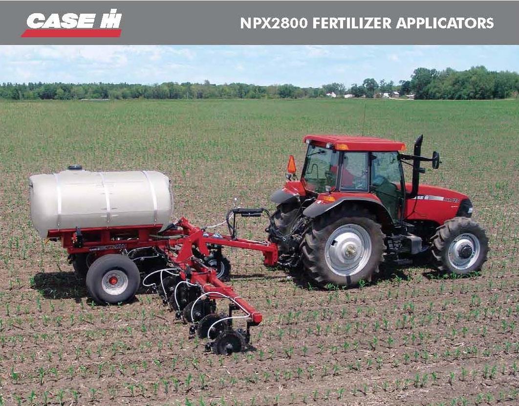 Fertilizer Applicators - NPX2800